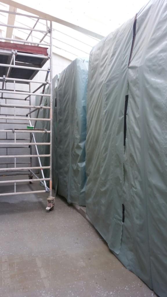 Stadtwerke Geretsried: Einsatz hochwertiger Kunststofffolie zum Schutz der Behälter